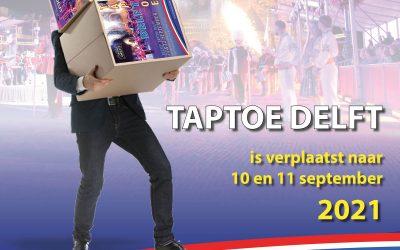 Taptoe Delft verplaatst naar 2021